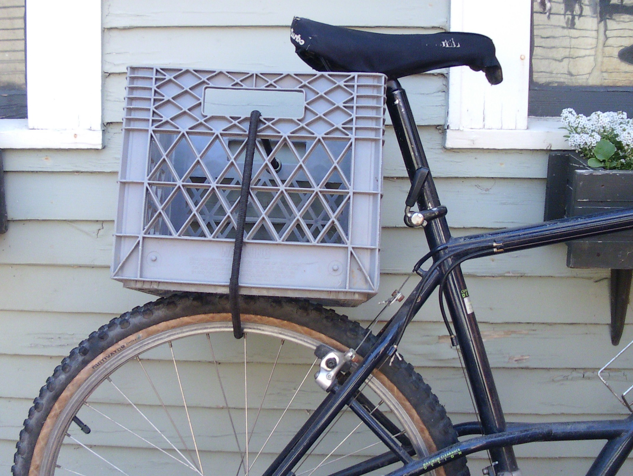 How To Attach Wine Crate Bike Rack Racks Blog Ideas